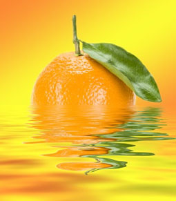 Tangerine Sensation Tea Light
