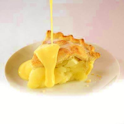 Apple Pie & Custard Large Candle