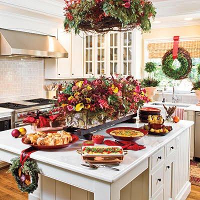 Christmas Kitchen Tea Light