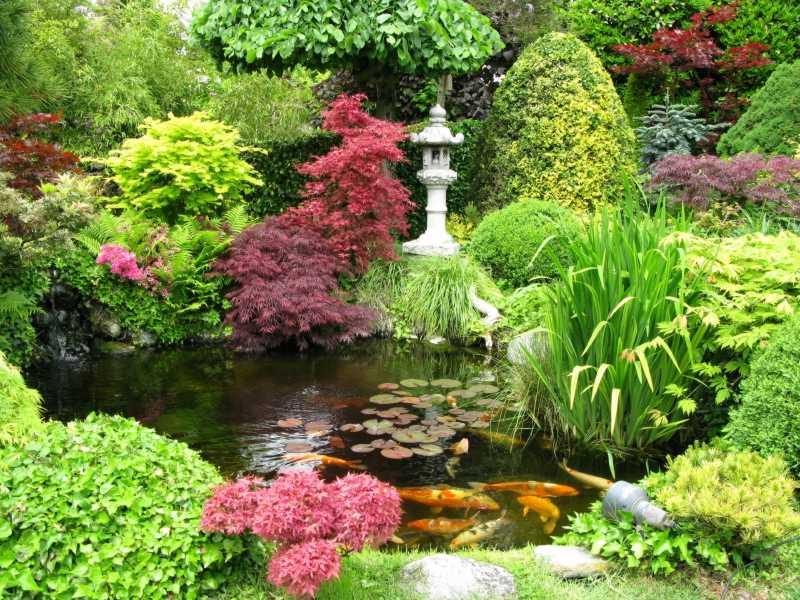 Water Garden Tea Light