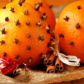 Christmas Orange Wax Tarts
