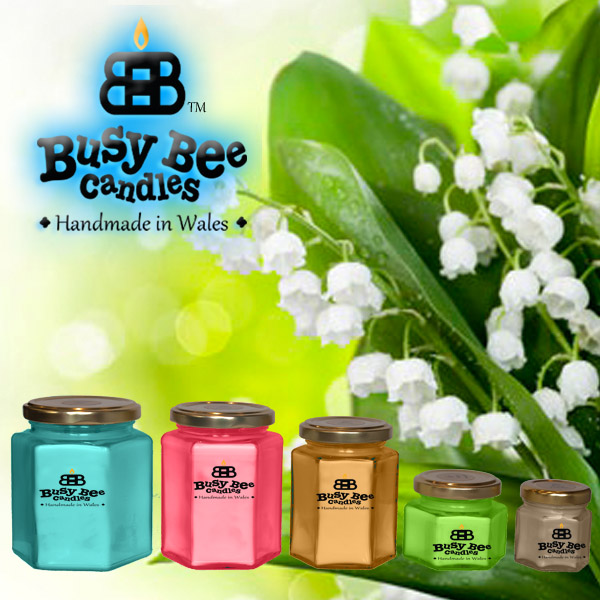 lily of the valley candles