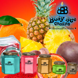 Pineapple Spice Scented Candle Collection