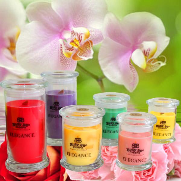 April Showers Elegance Candles