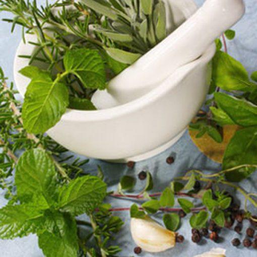 Basil Mint Sage Tea Light