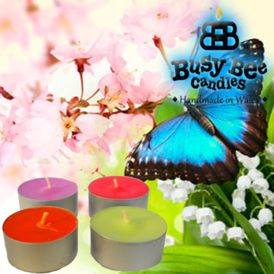 Butterfly Hugs Tea Lights