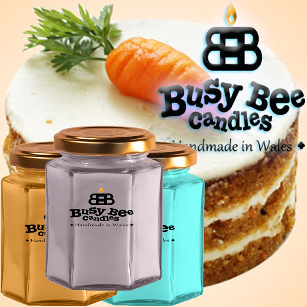 Carrot Cake Medium Candle