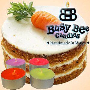 Carrot Cake Tea Light