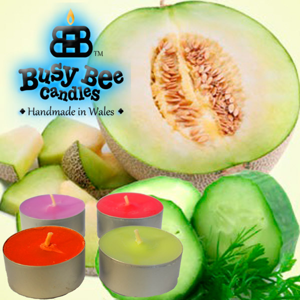 Cucumber Melon Tea Lights