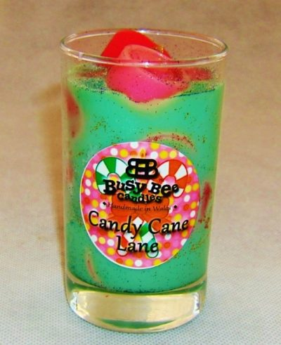 Candy Cane Lane Christmas Crackling Wick Scented Candle