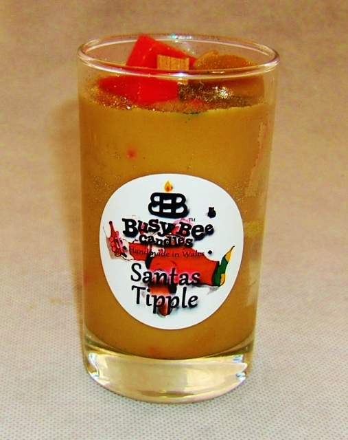 Santa's Tipple Christmas Crackling Wick Scented Candle