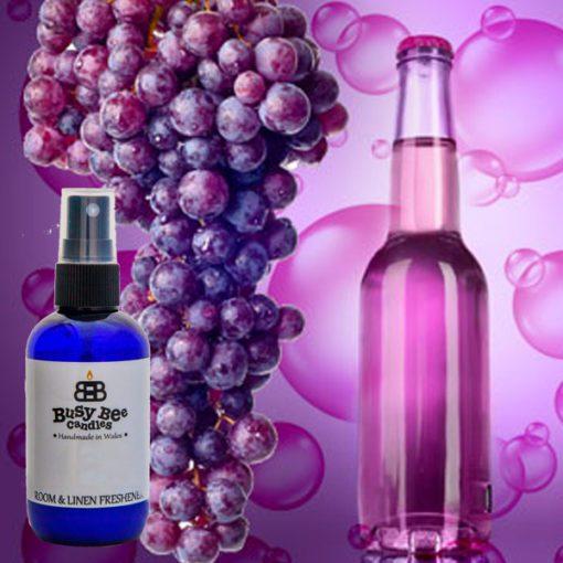 Grape Bubbles Room & Linen Freshener