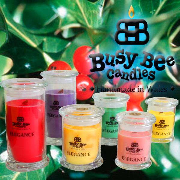 Hollyberry Elegance Candles