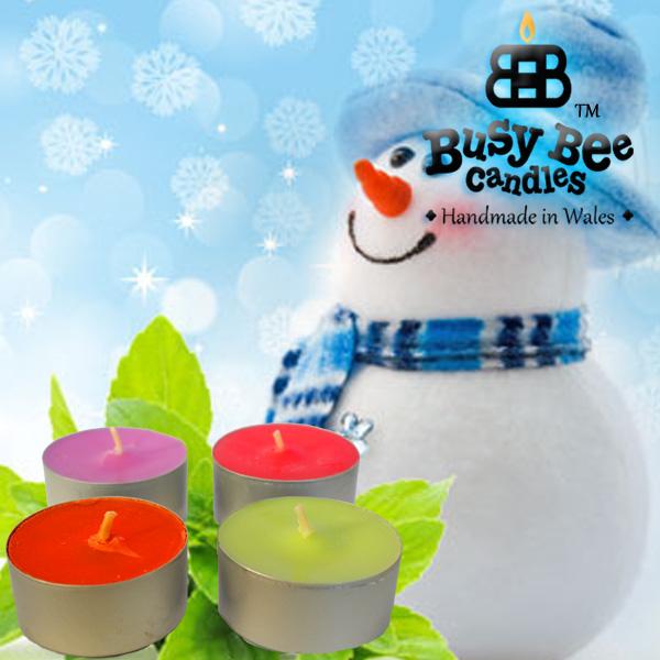 Jack Frost Tea Lights