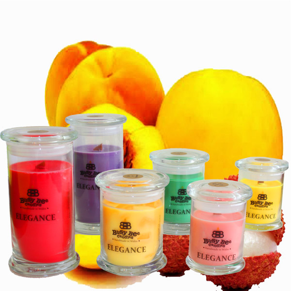 Oriental Peach Elegance Candles Collection