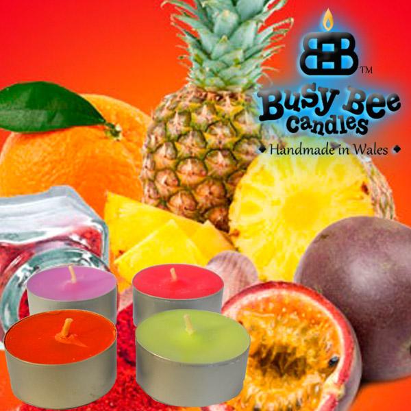 Pineapple Spice Tea Lights