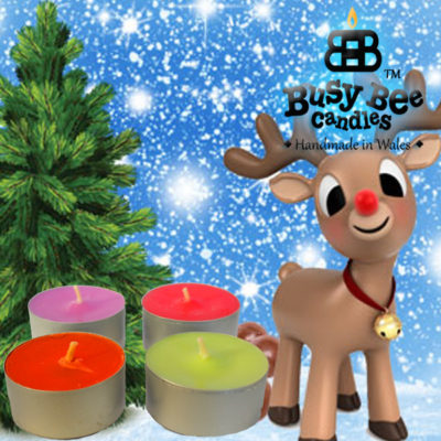 Rudolph's Trail Tea Lights
