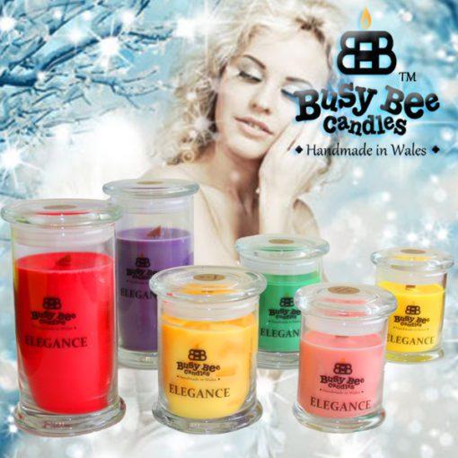 Snow Angel Elegance Candles