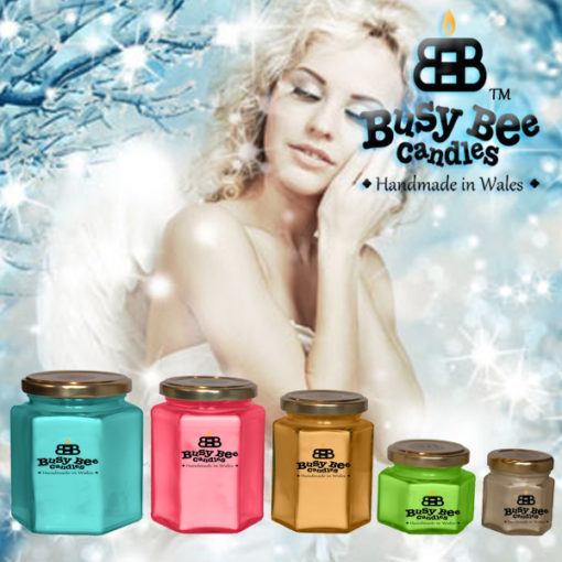 Snow Angel Candles