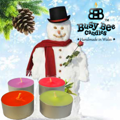 Snow Balls Tea Lights