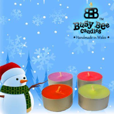 Snow Flakes Tea Lights