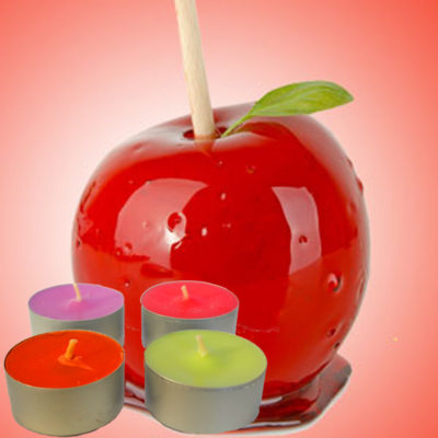 Toffee Apple Tea Light Scented Candles