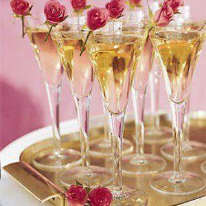 Champagne & Roses Tea Lights