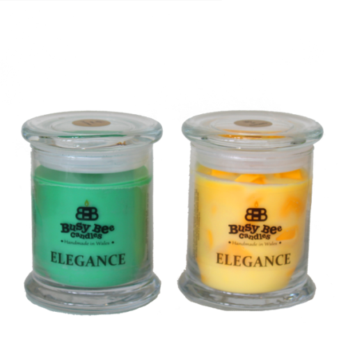 Coconut Breeze Medium Elegance Candle