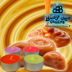 Butterscotch Bliss Scented Tea Lights