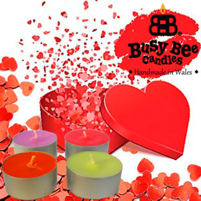 Passionate Kiss Tea Light Scented Candles
