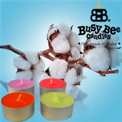 Clean Cotton Tea Light Scented Candles
