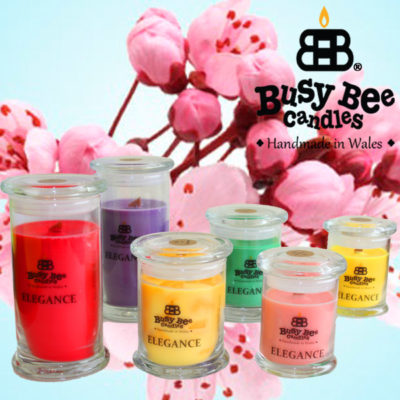 Cherry Blossom Elegance Scented Candles