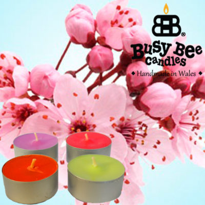 Cherry Blossom Tea Light Scented Candles