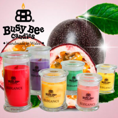 Passion Fruit Elegance Scented Candles