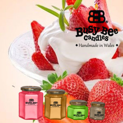 Strawberries And Cream Classic Scented Candles