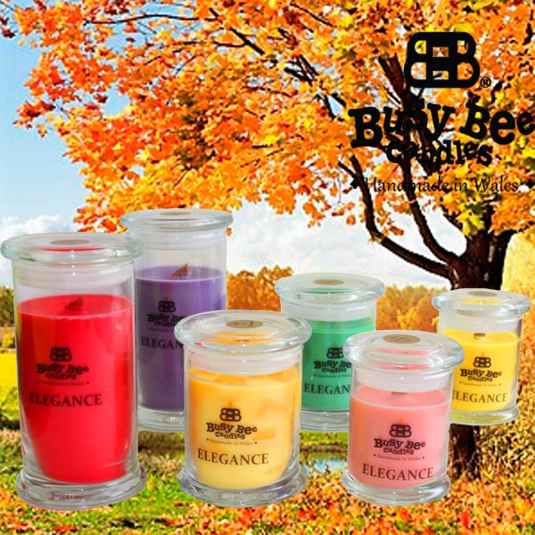 Autumn Glory Elegance Scented Candles