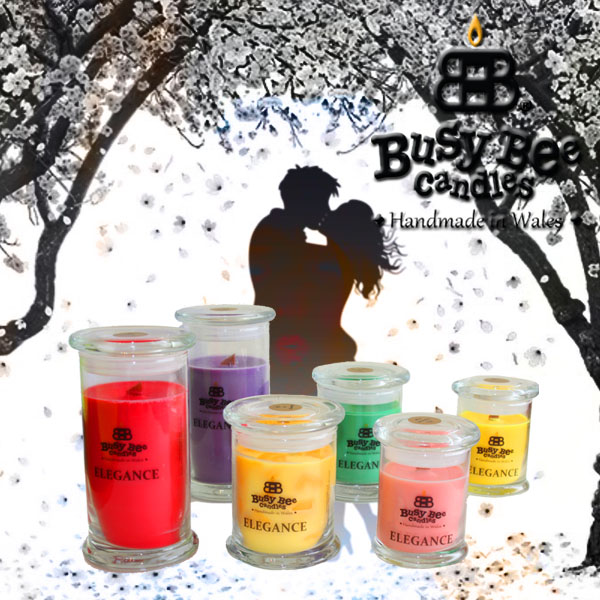 Kiss Me Quick Elegance Scented Candles